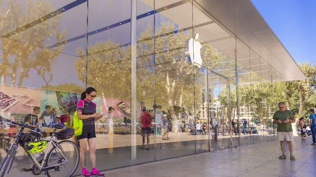 Apples iPhone-Umsätze sinken weiter – Dienste legen zu