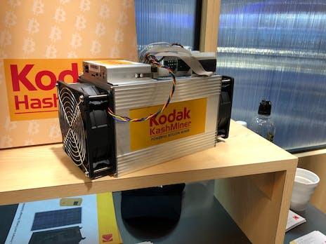 Nach Scam-Vorwürfen und SEC-Verbot: Kodaks Bitcoin-Miner ist jetzt Geschichte