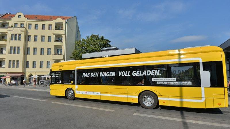 Fehlende Angebote: Berlin kann keine Elektrobusse anschaffen
