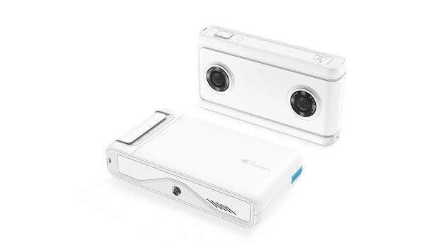 Lenovo Mirage Kamera für 180-Grad-Inhalte. (Bild: Lenovo)