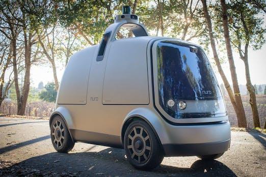 Nuro: Zwei Ex-Googler bauen selbstfahrenden Mini-Lieferwagen
