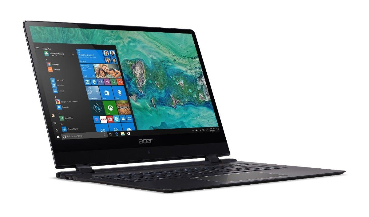 Acer Swift 7 (2018).  (Bild: Acer)