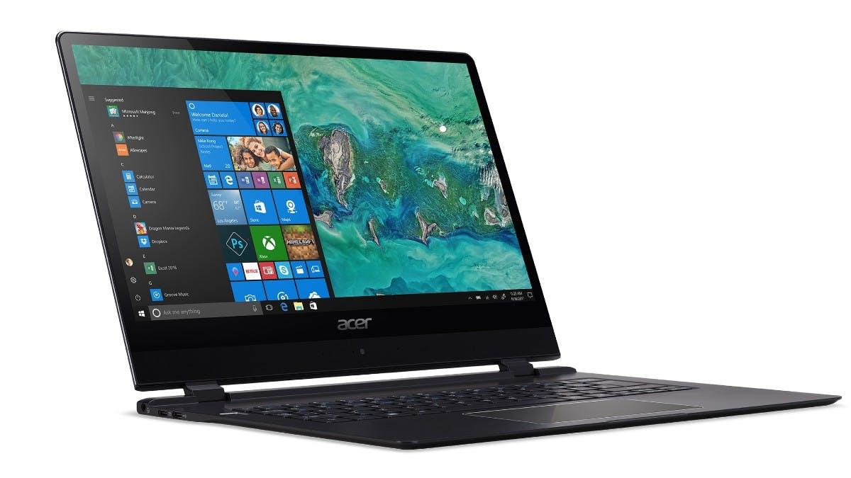 Unter 9 Millimeter Das Acer Swift 7 ist das dünnste Notebook der Welt