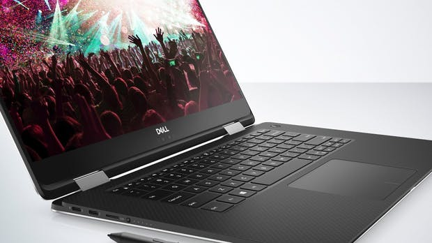 Dell XPS 15 (9575): Großes 2-in-1 mit Kaby Lake G
