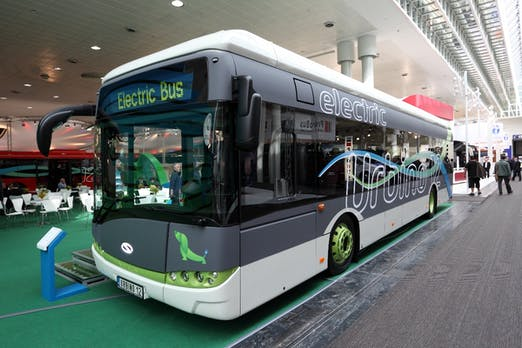 Zahl der Elektrobusse verdoppelt sich 2018