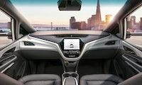 Autonome Autos von GM sollen mit deutschen Sensoren fahren