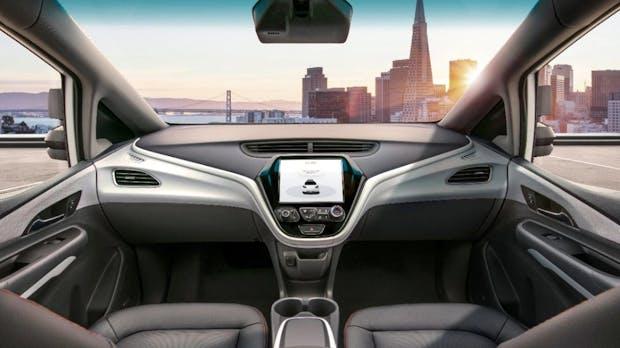 Ohne Pedale, ohne Lenkrad: Dieses selbstfahrende Auto von GM soll 2019 die Straße erobern