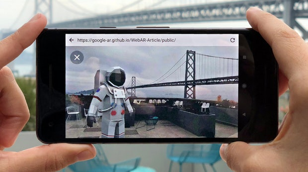 Google bringt Augmented Reality in den Browser