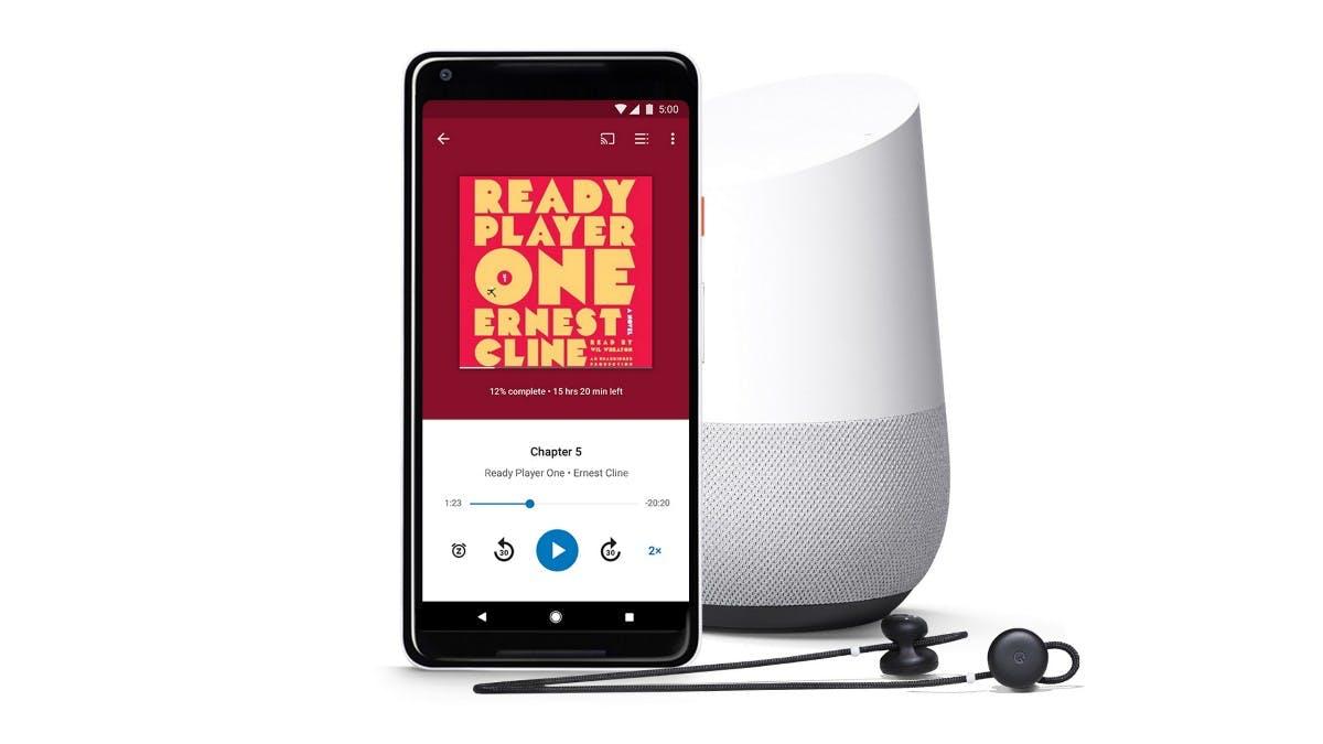 Audible-Konkurrenz: Google verkauft jetzt auch Hörbücher