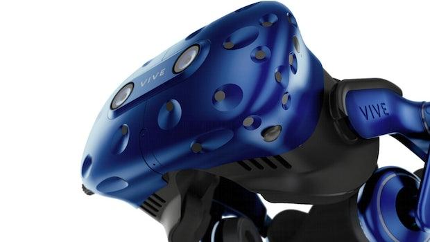 HTC Vive Pro. (Bild: HTC)