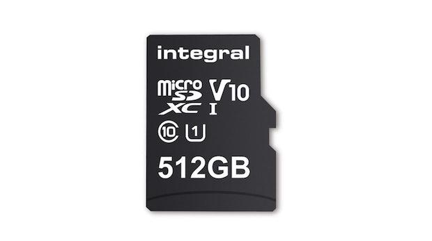 Kleines Speichermedium ganz groß: Integral bringt 512 Gigabyte in einer Micro-SD-Karte