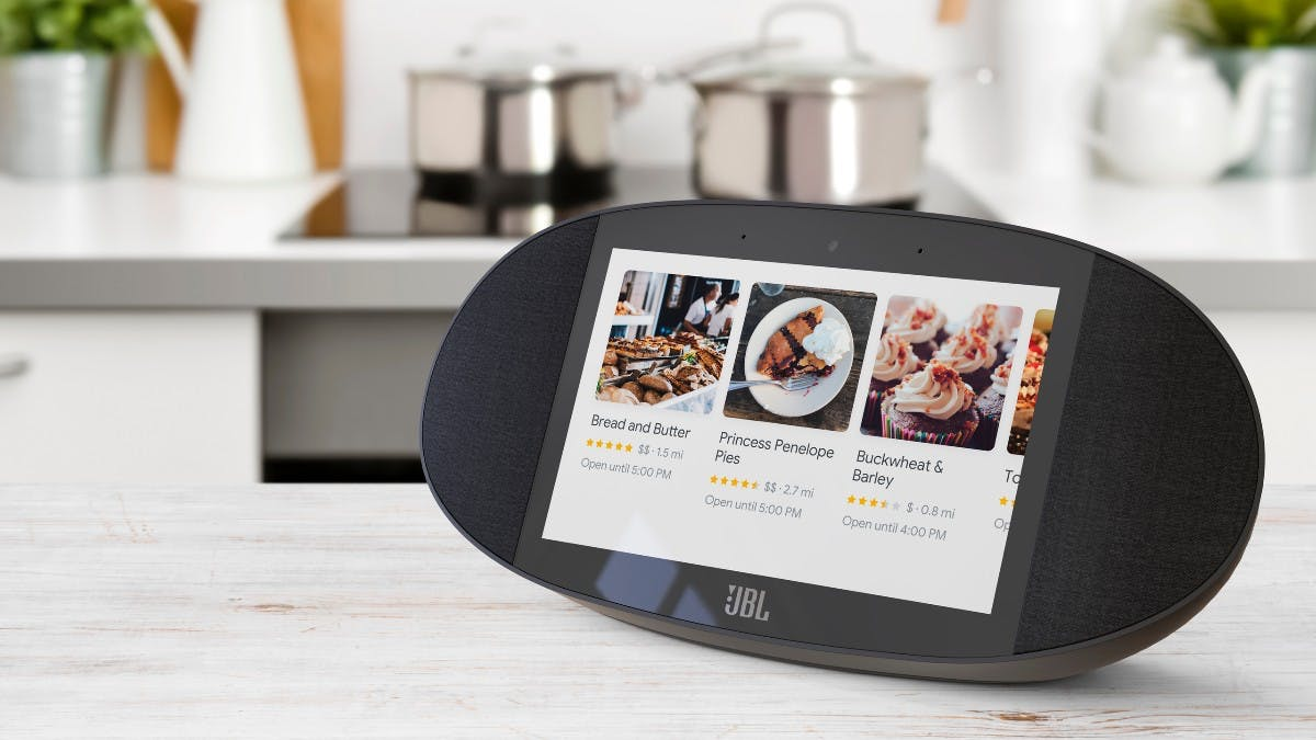 JBL Link View: Smart Display mit Google Assistant vorgestellt