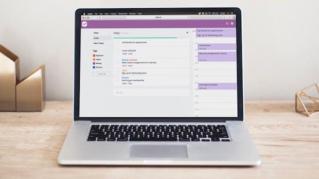 Neue Getting-Things-Done-App vereint To-do-Liste, Kalender und Timer