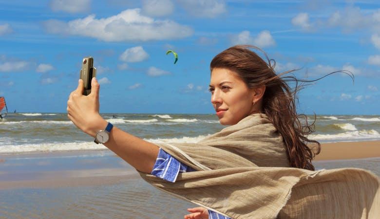 360-Grad-Kamera fürs iPhone ermöglicht Allround-Aufnahmen, Livestreams und 360-Grad-Calls