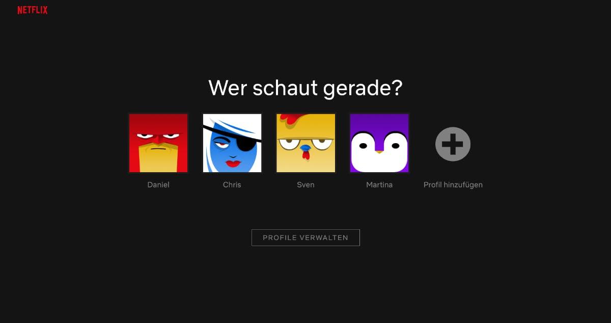 Netflix Konto