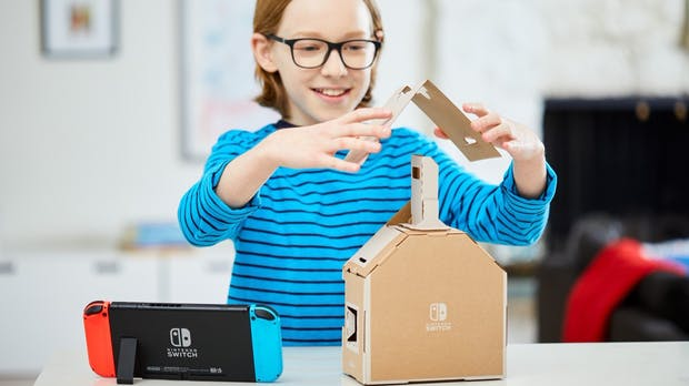 Nintendos nächstes großes Ding ist aus Pappe