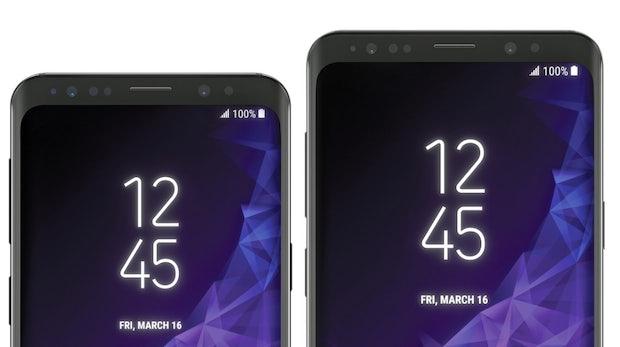 So schick wird das Samsung Galaxy S9