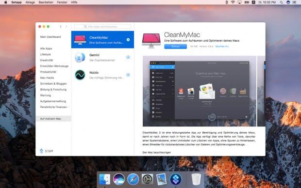 Die Macher von Setapp, Macpawn, stehen unter anderem auch hinter Clean My Mac. (Bild: Setapp)