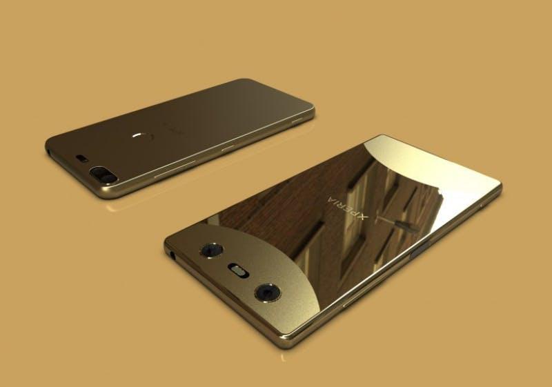 Ein Sony XZ1s wird zum MWC 2018 erwartet. (Mockup: Vortex.ge)