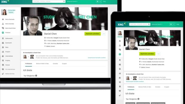 Das neue Xing-Profil ist da – und so sieht es aus