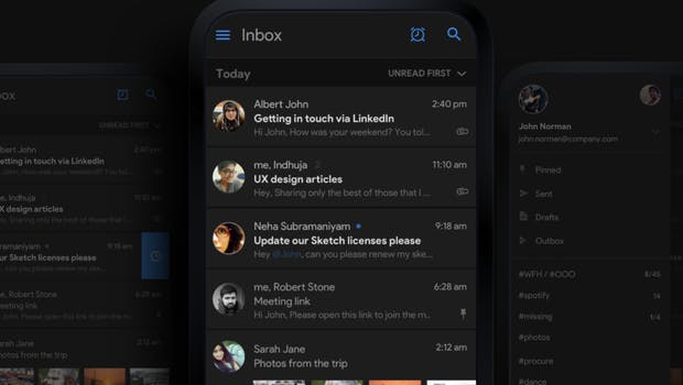 (Screenshot: Behance.net / New Gmail Concept)