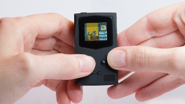 Pocketsprite ist eine winzige Gameboy-Kopie für den Schlüsselbund