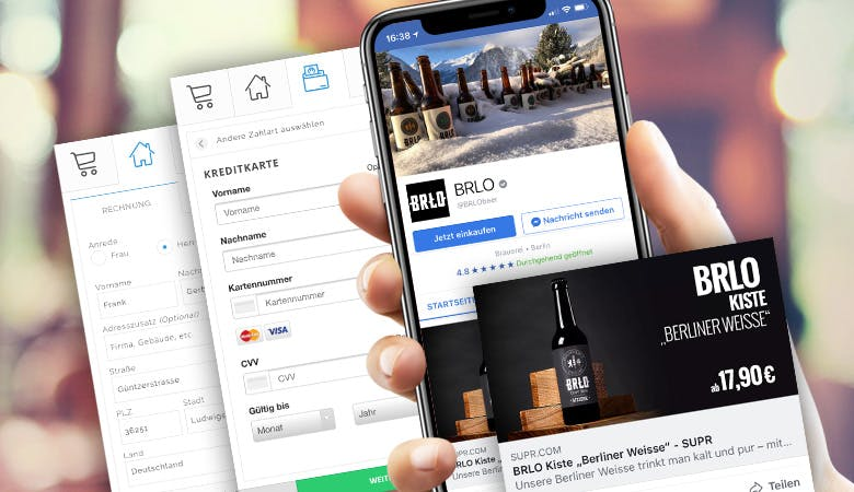 SUPR: Social Checkout und Shopping Widget für mehr Umsatz