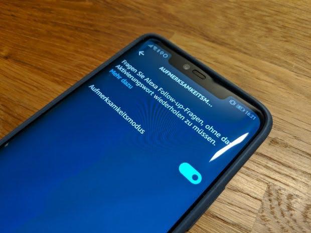 Weniger Alexa, mehr Interaktion: Mit dem Aufmerksamkeitsmodus müsst ihr seltener Alexa sagen. (Foto: t3n.de)