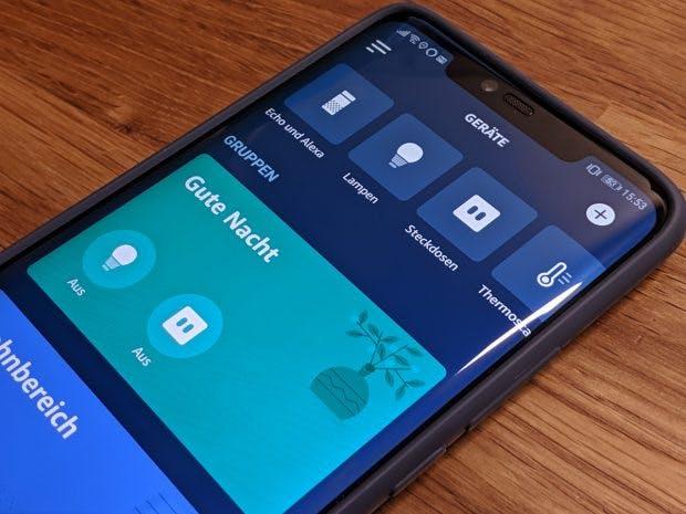 Alexa unterstützt die Steuerung verschiedener Smart-Home-Produkte. (Foto: t3n)