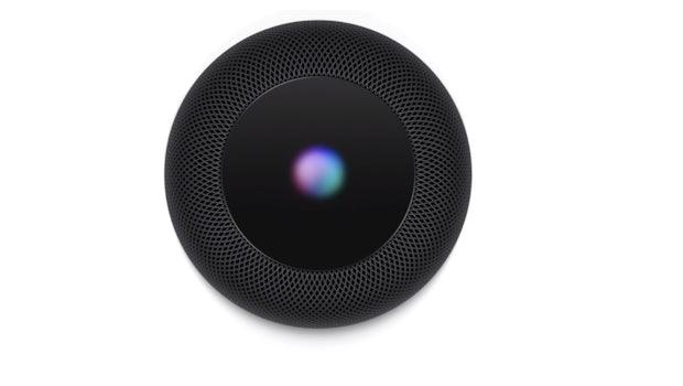 Das Display auf dem Homepod dient nur zur Visualisierung von Siri. (Bild: Apple)