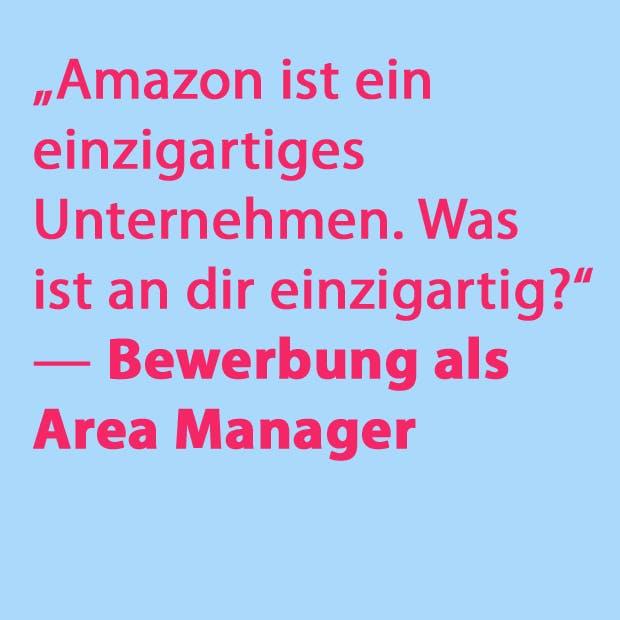 Diese kniffligen Fragen mussten Amazon-Bewerber 2017 beantworten. (Grafik: t3n.de)