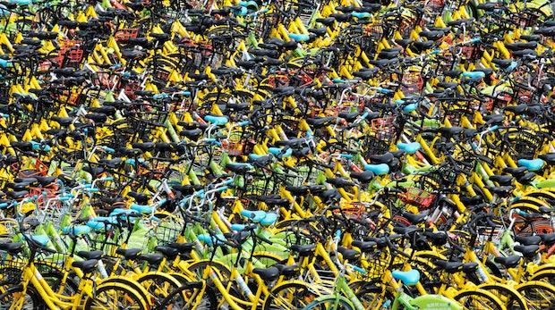 Uber kopiert Fahrradverleihkonzept aus China