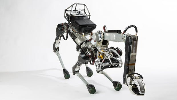 Boston Dynamics Spot Mini. (Foto: Boston Dynamics)