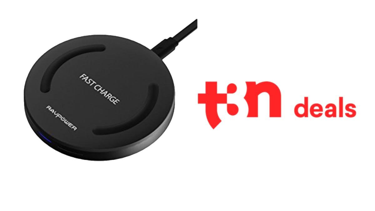 t3n-Deal des Tages: Kabelloses Qi-Ladegerät von RAVPower für 8,99 Euro!