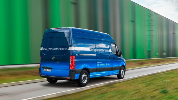 Mercedes-Benz E-Sprinter. (Bild: Mercedes-Benz)