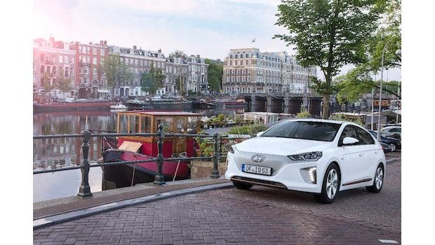 Hyundai Ioniq Elektro. (Foto: Hyundai)