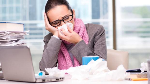 Wenn du krank bist, leg dich ins Bett – oder kündige