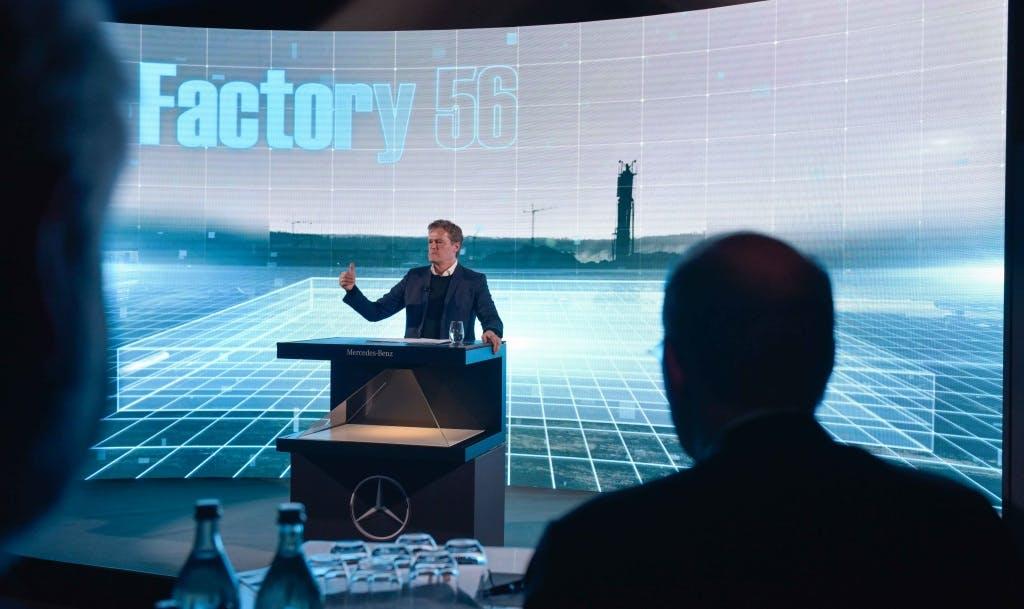 Factory 56: Mercedes baut Fabrik für autonome Taxis