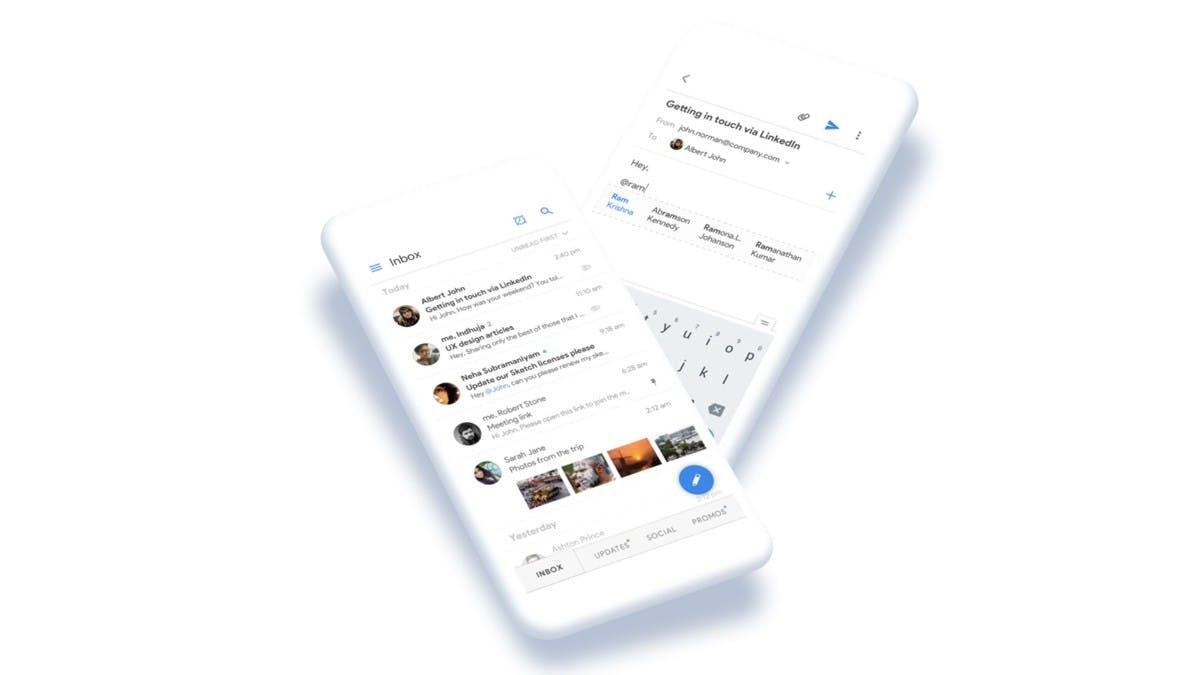 Designerin erfindet neues Gmail-Konzept