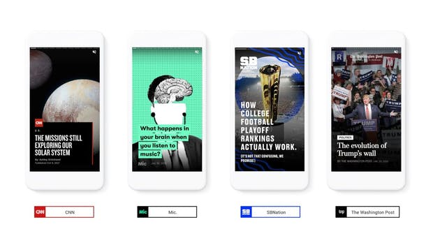 Visuelles Storytelling: Google bringt AMP Stories heraus