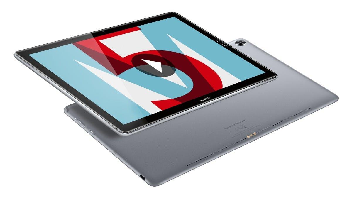 Huawei Mediapad M5 8 und 10: Neue Android-Oreo-Tablets mit Harman-Kardon-Sound