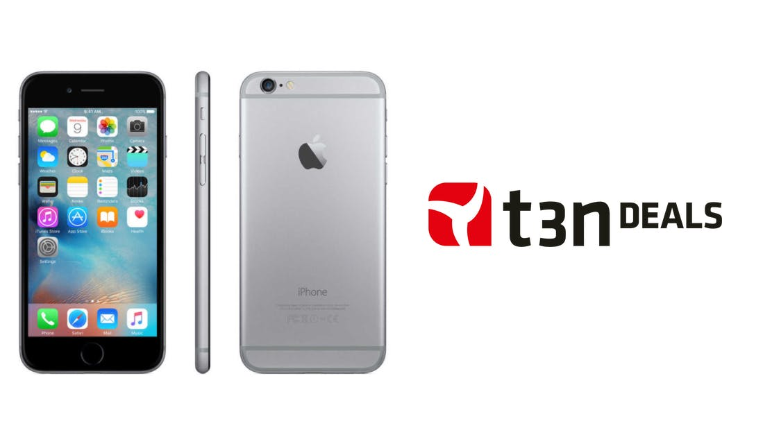 t3n-Deal des Tages: Apple iPhone 6s mit 128 Gigabyte Speicher für 479 Euro