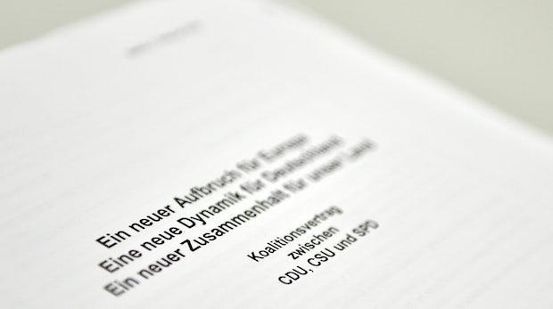 Digitalisierung: Der Koalitionsvertrag im t3n-Digitalcheck