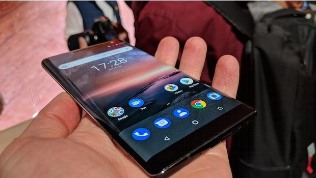 Nokia 8 Scirocco. (Foto. t3n)