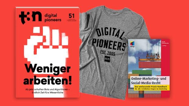 """Gratis zum t3n-Abo: """"Online-Marketing- und Social-Media-Recht"""" von mitp"""