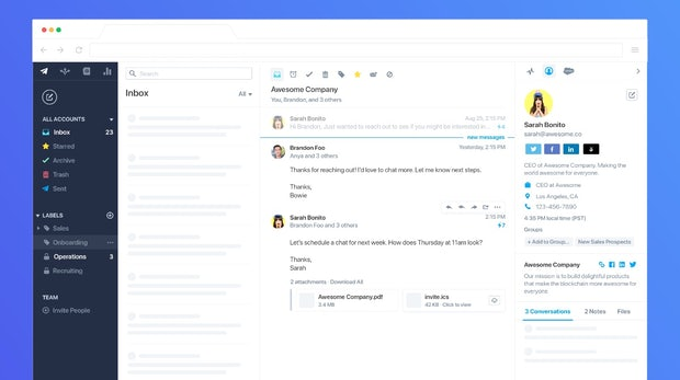 E-Mail-Client mit praktischen Business-Funktionen: Polymail bringt Webapp heraus