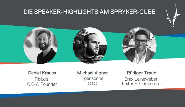 Spryker Cube: Die Zukunft des E-Commerce auf der Internet World Expo