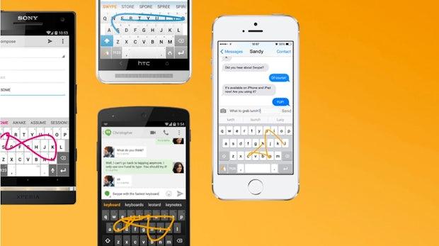 Swype: Alternative Tastatur für Android und iOS wird eingestellt
