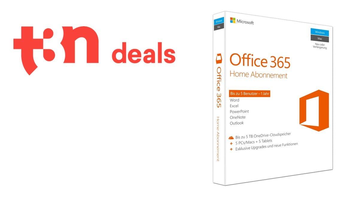t3n-Deal des Tages: Microsoft-Office-365-Home heute für nur 55 Euro!