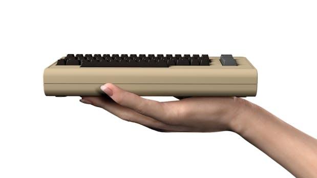 """The C64 Mini: Der """"Brotkasten"""" im Miniatur-Format kommt Ende März"""